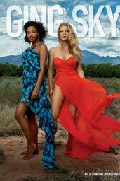 Katheryn Winnick and Kylie Bunbury - Emmy Magazine October 2021 Issue
