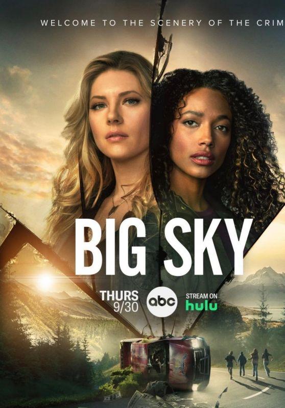 "Katheryn Winnick - ""Big Sky"" Season 2 Poster and Trailer"