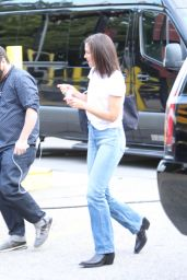 Katie Holmes - Arrives at the Global Citizen Concert in New York 09/25/2021