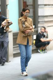 Katie Holmes - Out in New York 09/17/2021