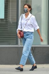 Katie Holmes - Out in NYC 08/30/2021