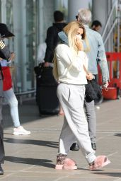 Katie Price at Stanstead Airport in London 09/24/2021