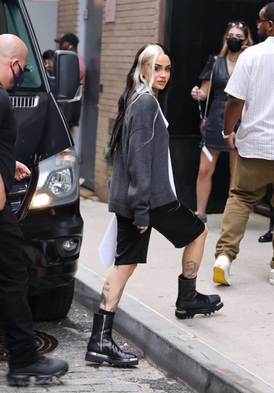 Kehlani - Arrives at a Fashion Show in New York City 09/08/2021