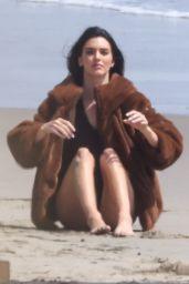 Kendall Jenner - Beach Photoshoot in Malibu 09/03/2021