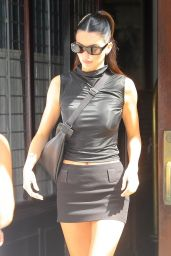 Kendall Jenner in an All-black Ensemble - NYC 09/10/2021