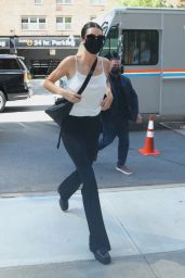 Kendall Jenner Leaves Michael Kors Show in NYC 09/10/2021