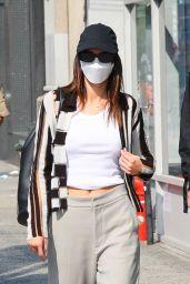 Kendall Jenner Street Style - New York 09/12/2021