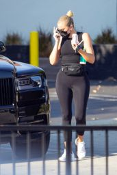 Khloe Kardashian in Spandex - Los Angeles 09/20/2021