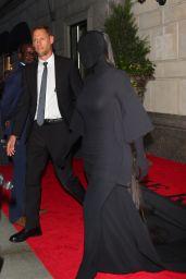 Kim Kardashian - Exits The Ritz-Carlton Hotel Ahead of the Met Gala in NYC 09/13/2021