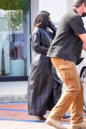 Kim Kardashian – Filming New Reality Show for Hulu in Malibu 09/28/2021