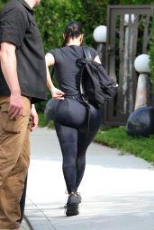 Kim Kardashian in Tights - Beverly Hills 08/31/2021