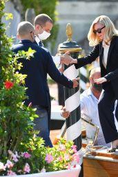 Kirsten Dunst – Arriving at Hotel Excelsior in Venice 09/02/2021