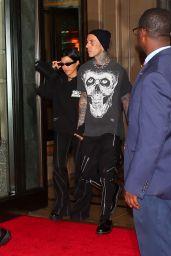 Kourtney Kardashian at The Ritz-Carlton Hotel in New York 09/13/2021