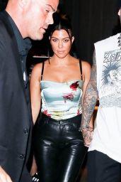 Kourtney Kardashian - Post-VMA Dinner in NYC 09/12/2021