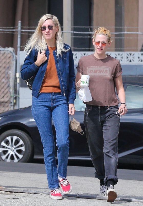 Kristen Stewart and Dylan Meyer - Out in LA 09/18/2021