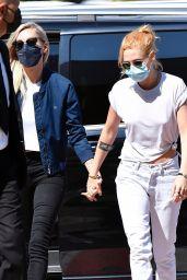 Kristen Stewart - Arriving in Venice 09/02/2021