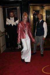 Kristen Stewart - Heads to the Met Gala in New York 09/13/2021
