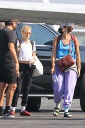 Kristen Stewart – Van Nuys Airport in NY 09/08/2021