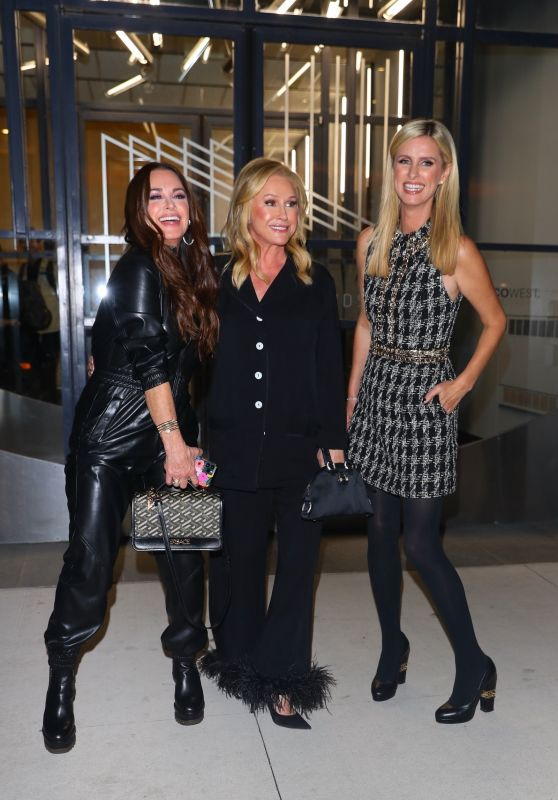 Kyle Richards, Kathy Hilton and Nicky Hilton - Leaving Watch What Happens Live 09/29/2021