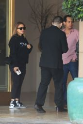 Larsa Pippen at The Montage Hotel in Beverly Hills 09/24/2021