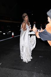 Laverne Cox - Leaving The Academy Museum of Motion Pictures Opening Gala in LA 09/25/2021