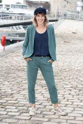 """Lea Francois - """"Plus Belle La Vie"""" Photocall at the 23rd TV Fiction Cestival in La Rochelle 09/18/2021"""