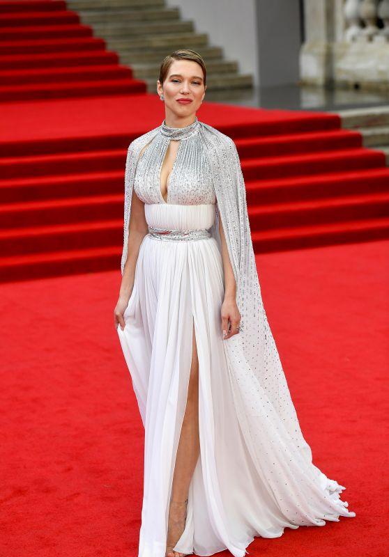 "Lea Seydoux - ""No Time To Die"" World Premiere in London"