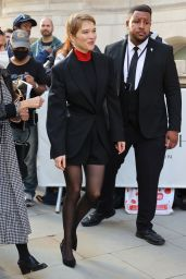 """Lea Seydoux - Promoting new Bond Movie """"No Time To Die"""" in London 09/23/2021"""