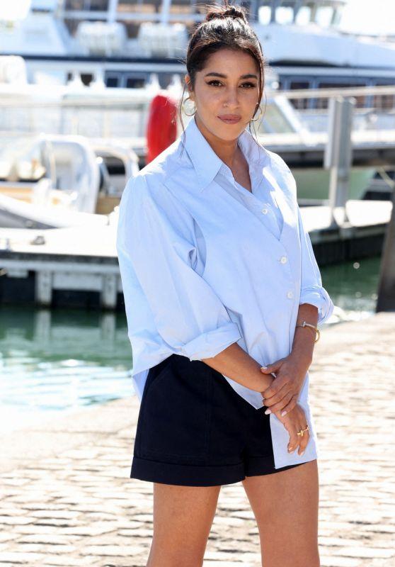 "Leila Bekhti - ""La Vengeance au Triple Galop"" Photocall at the 23rd TV Fiction Festival at La Rochelle"