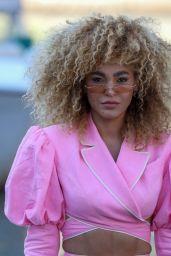 Leila Depina - Arrives at the 78th Venice Film Festival 09/05/2021
