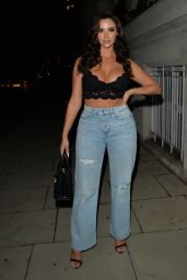Lexi Taylor Night Out Style - Novikov in London 09/11/2021