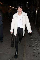 Lily Allen - Leaving the Noel Coward Theatre in London 08/31/2021