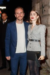Lily Collins - Cartier Clash Dinner in Berlin 09/21/2021