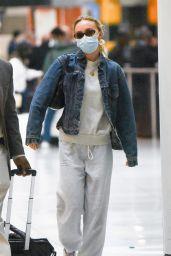 Lily-Rose Depp - JFK Airport in New York 09/01/2021