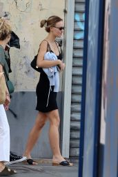 Lily Rose Depp - Out in Paris 09/25/2021