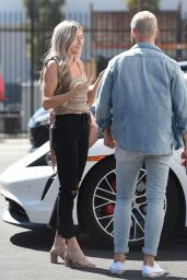 Lindsay Arnold - Arriving at DWTS Season 30 Rehearsals in LA 09/03/2021