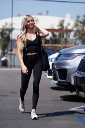 Lindsay Arnold at DWTS Rehearsal Studio in LA 09/07/2021