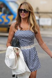 Lizzie Cundy - Out in London 09/22/2021