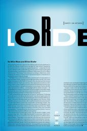 Lorde – Variety 09/29/2021 Issue