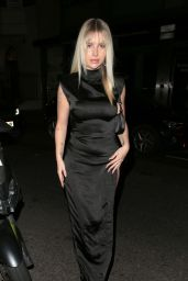 Lottie Moss at the Chiltern Firehouse in London 09/23/2021