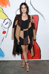 Lucy Hale – alice + olivia Show in New York City 09/10/2021