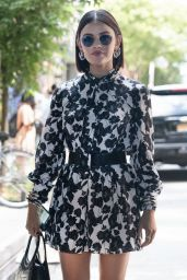 Lucy Hale - Arrives at Jason Wu Fashion Show in New York 09/10/2021
