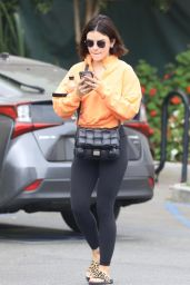 Lucy Hale - Heading to Remedy Place Wellness Center in West Hollywood 08/31/2021
