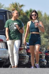 Lucy Hale in Workout Outfit - West Hollywood 09/07/2021