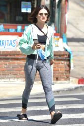 Lucy Hale - Leaving Remedy Place in West Hollywood 09/18/2021