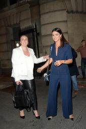 Lucy Mecklenburgh - Leaving British Takeaway Awards in London 09/06/2021
