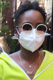 Lupita Nyong'o - Stops by The Mark, New York 09/12/2021