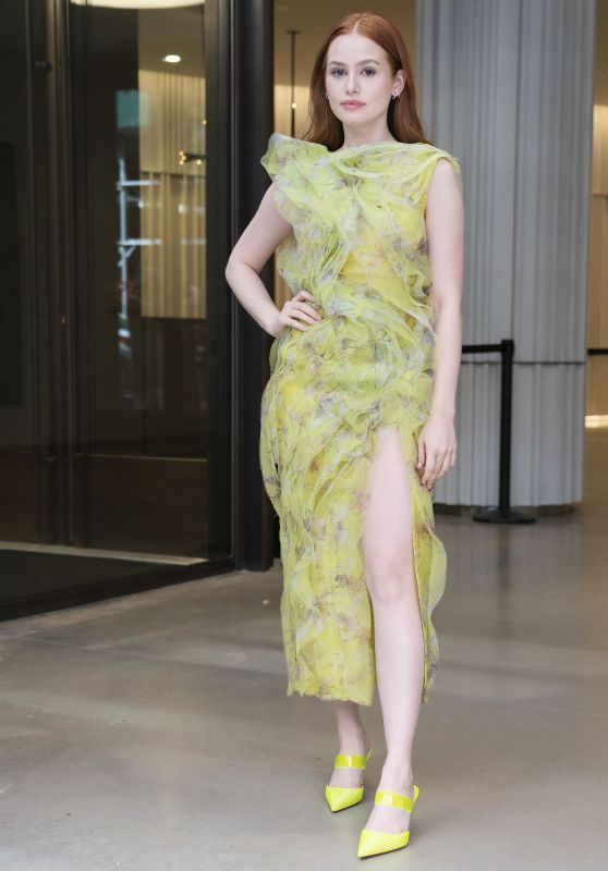 Madelaine Petsch - Arrives at Jason Wu Fashion Show in New York 09/10/2021