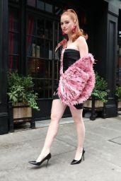 Madelaine Petsch - Moschino Fashion Show in New York 09/09/2021
