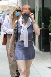 Madelaine Petsch - Out in NYC 09/08/2021